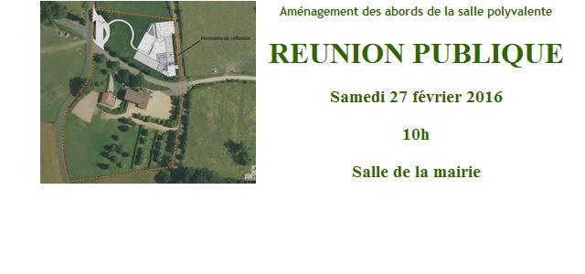 La réunion publique organisée avec l'appui du Parc Régional Livradois-Forez sur le projet d'aménagement des abords de la salle polyvalente a réuni plus de 20 personnes le samedi 27 février […]