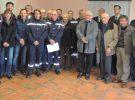 Une cérémonie a été donnée en l'honneur des sapeur-pompiers dimanche 27 janvier 2017