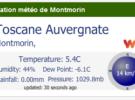 Une station météo sur l'école pour connaître en temps réel l'ensemble des données météorologiques à Montmorin